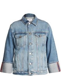 Frame Reverse Cuff Denim Jacket