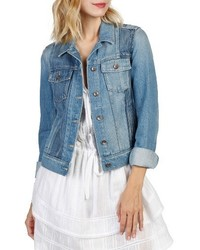 Paige Rowan Pieced Denim Jacket