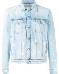 Calvin Klein Jeans Splattered Denim Jacket