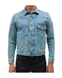 Kato Stretch Selvedge Denim Jacket