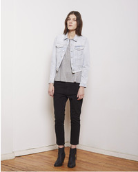 Acne Studios Tag Spray Vintage Denim Jacket