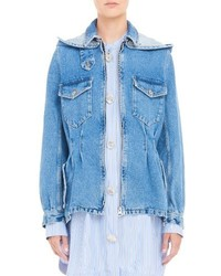 Tailored denim car jacket medium 1249197