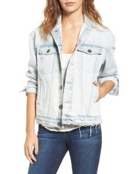 The boyfriend denim trucker jacket medium 3641100