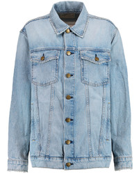 Current/Elliott The Oversized Trucker Denim Jacket