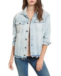 The vintage boyfriend denim trucker jacket medium 4344322