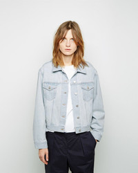 Acne Studios Tram Bleached Denim Jacket