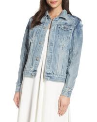 CHOSEN by One Day Wifey Embellished Denim Jacket