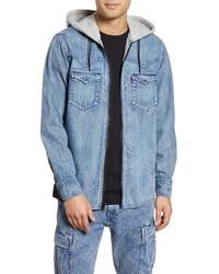Levi's X Justin Timberlake Hooded Zip Up Western Shirt