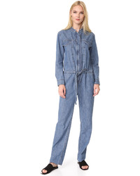 Rag & Bone Lyon Denim Jumpsuit