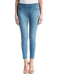Stretch denim ankle leggings medium 1310162