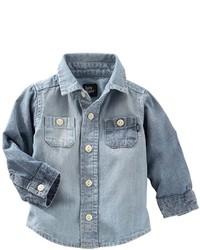 Osh Kosh Baby Boy Oshkosh Bgosh Chambray Shirt
