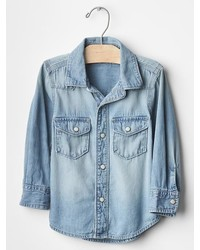 Gap Denim Western Shirt