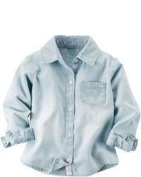 Carter's Toddler Girl Chambray Button Down Shirt