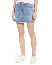 Agolde quinn high waist denim miniskirt medium 3944076