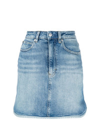 Calvin Klein Jeans Binding Denim Mini Skirt