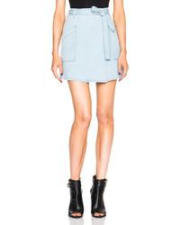 MM6 MAISON MARGIELA Denim Mini Skirt