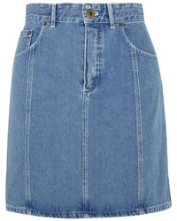 Denim mini skirt mid denim medium 954396