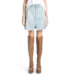 Denim skirt medium 3944417
