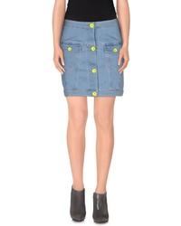 Love Moschino Denim Skirts
