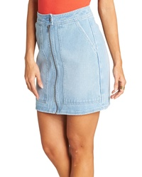 Billabong Ride Right Denim Miniskirt