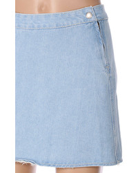 What to wear with a light blue denim skirt – Modern skirts blog ...