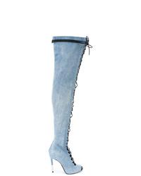 Balmain Denim Campbel Boots