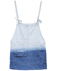 ChicNova Ombre Denim Pinafore