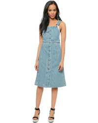 Sea Denim Button Up Dress