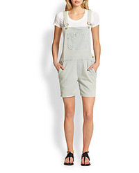 Le Garcon Denim Overall Shorts