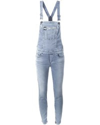 Diesel Skinny Jeans Overall Jumpsuit