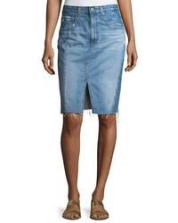AG Jeans Ag The Emery High Waist Midi Skirt