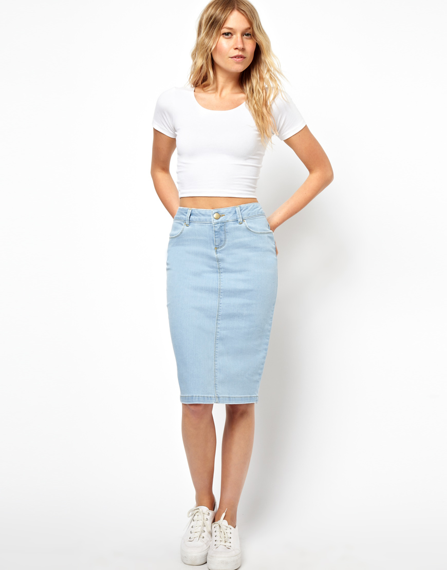 Where Can I Buy Denim Skirts