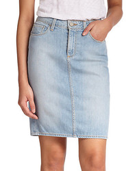 Paige Deirdre Cotton Denim Skirt