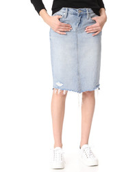 Blank Denim Big Reveal Skirt