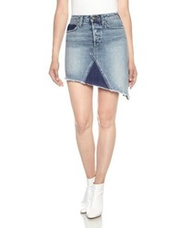 Joes asymmetrical denim skirt medium 4401493