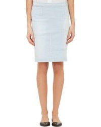Frame Denim Le High Patchwork Pencil Skirt