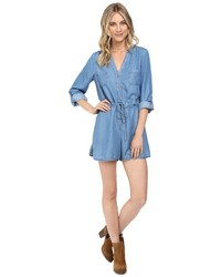 Brigitte Bailey Kenton Chambray Romper