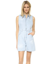 Maison Margiela Mm6 Bleach Stonewashed Romper