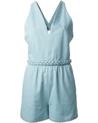 Valentino Denim Playsuit