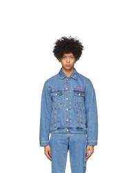 Gcds Blue Bucket Jacket