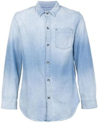 5 year fade denim shirt medium 954832