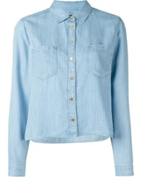 7 For All Mankind Boxy Shirt
