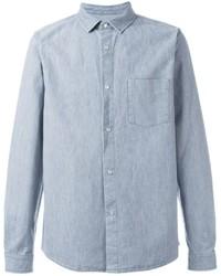 A.P.C. Snap Button Denim Shirt