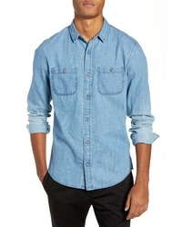 The Rail Acid Washed Denim Shirt