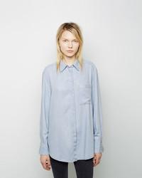 Acne Studios Addle Fluid Denim Shirt