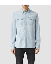 AllSaints Laller Denim Shirt