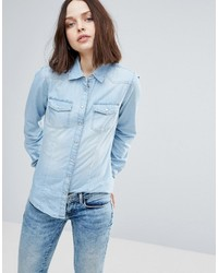 Only Always Rock It Fit Denim Shirt