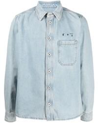 Off-White Arrows Motif Denim Shirt