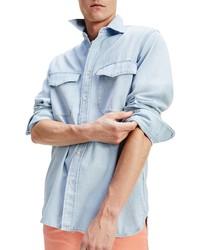 Tommy Hilfiger Aubrey Regular Fit Denim Button Up Shirt