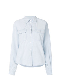MM6 MAISON MARGIELA Balloon Sleeve Denim Shirt